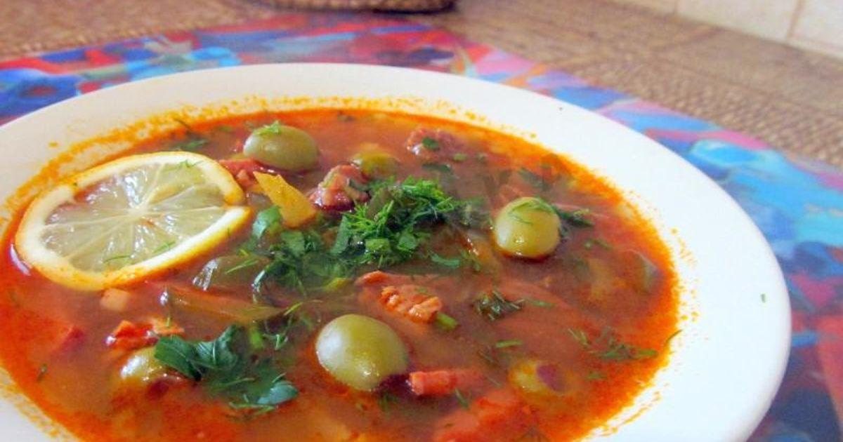 Суп солянка рецепт приготовления с фото пошагово