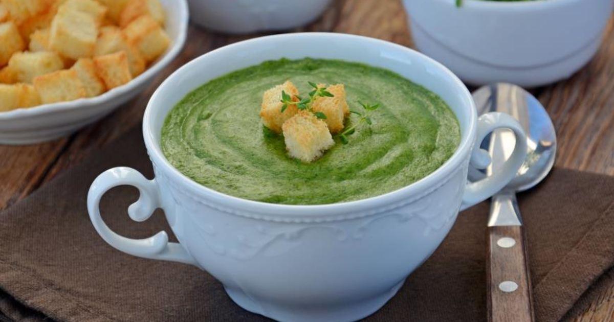 суп из шпината рецепт с фото состоящие седельных