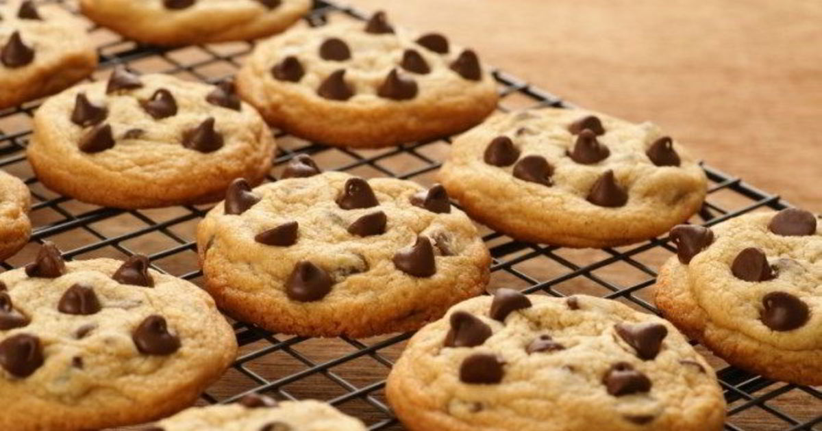 Печенье картинка с шоколадом